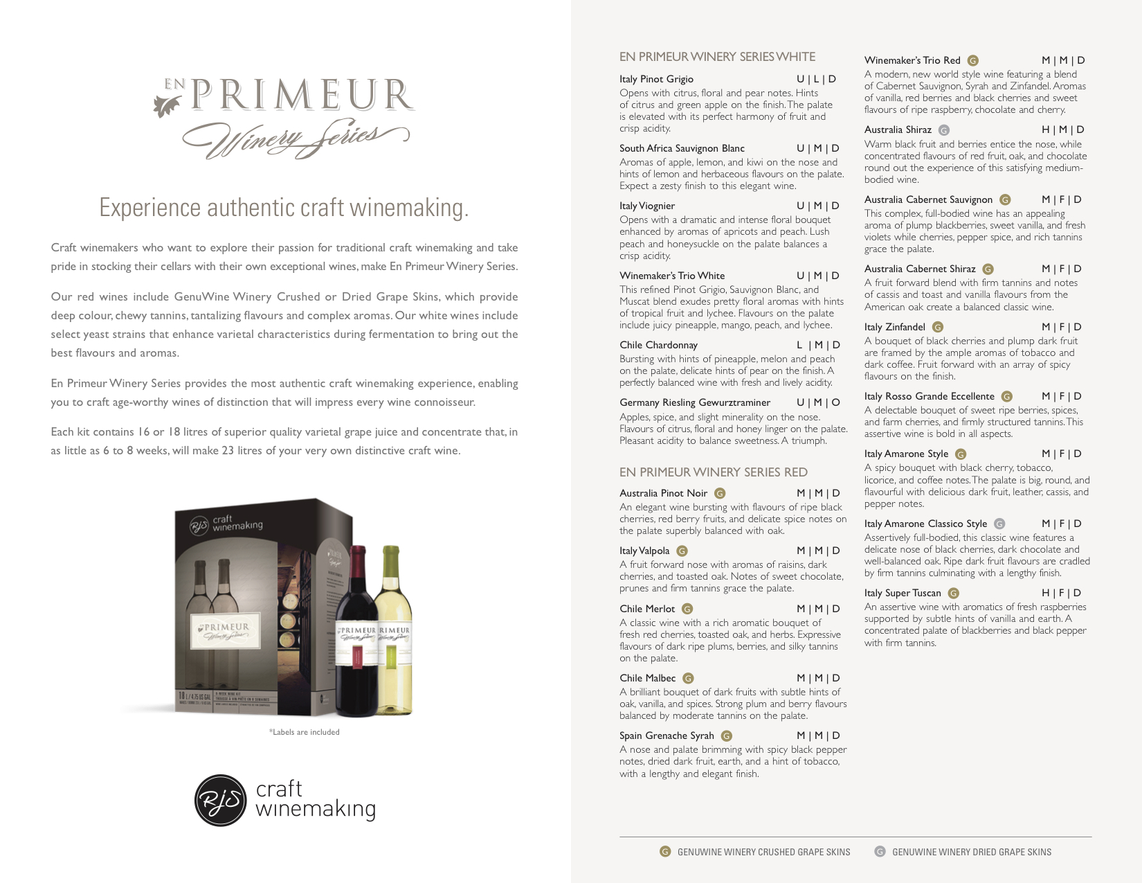 En Primeur Winery Series Sell Sheet2